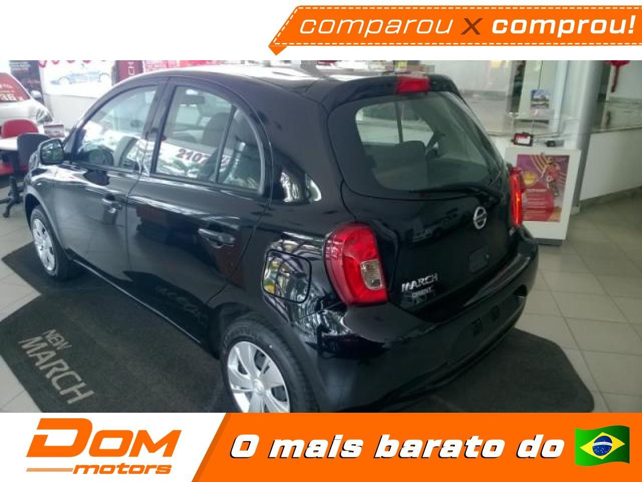 Nissan March 1 6 16v 4p Sv Flex Variadas 2021 0km Dom Motors Carro Rioclaro