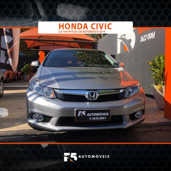 HONDA Civic 2.0 16V 4P FLEX LXR AUTOMÁTICO, Foto 7