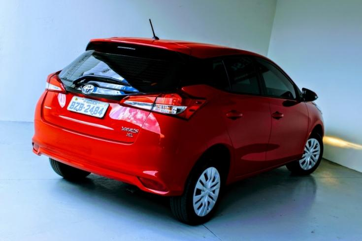 TOYOTA Yaris Hatch 1.3 16V 4P FLEX XL MULTIDRIVE AUTOMÁTICO CVT, Foto 5