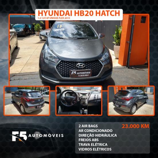 HYUNDAI HB 20 Hatch 1.0 12V 4P UNIQUE FLEX, Foto 1