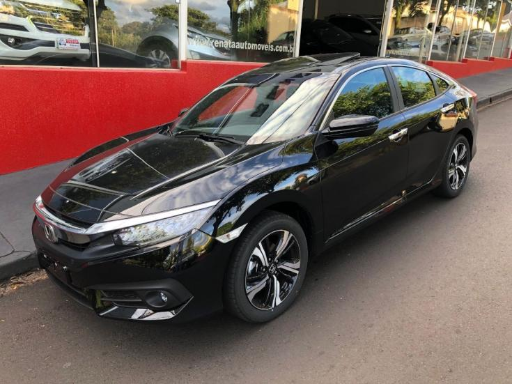 HONDA Civic 1.5 16V 4P TOURING TURBO AUTOMÁTICO CVT, Foto 2