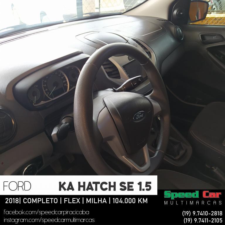 FORD Ka Hatch 1.5 12V 4P TI-VCT SE FLEX, Foto 6