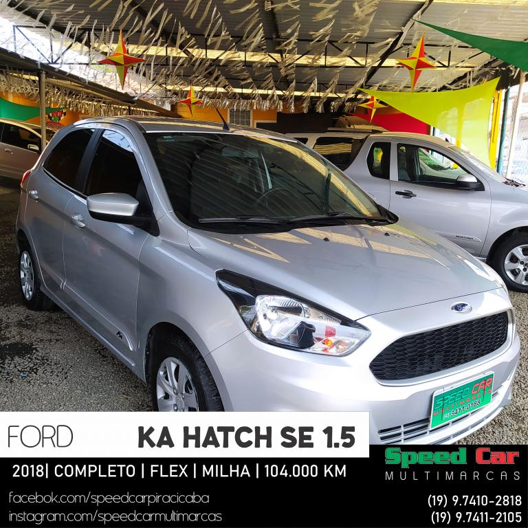FORD Ka Hatch 1.5 12V 4P TI-VCT SE FLEX, Foto 2