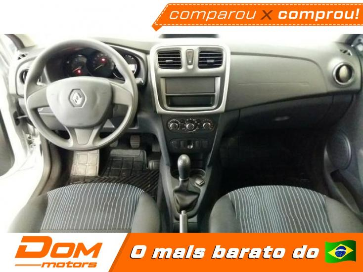 RENAULT Sandero 1.0 16V 4P FLEX AUTHENTIQUE, Foto 4