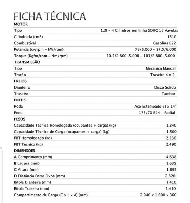 EFFA MOTORS V21 Cabine Simples , Foto 8