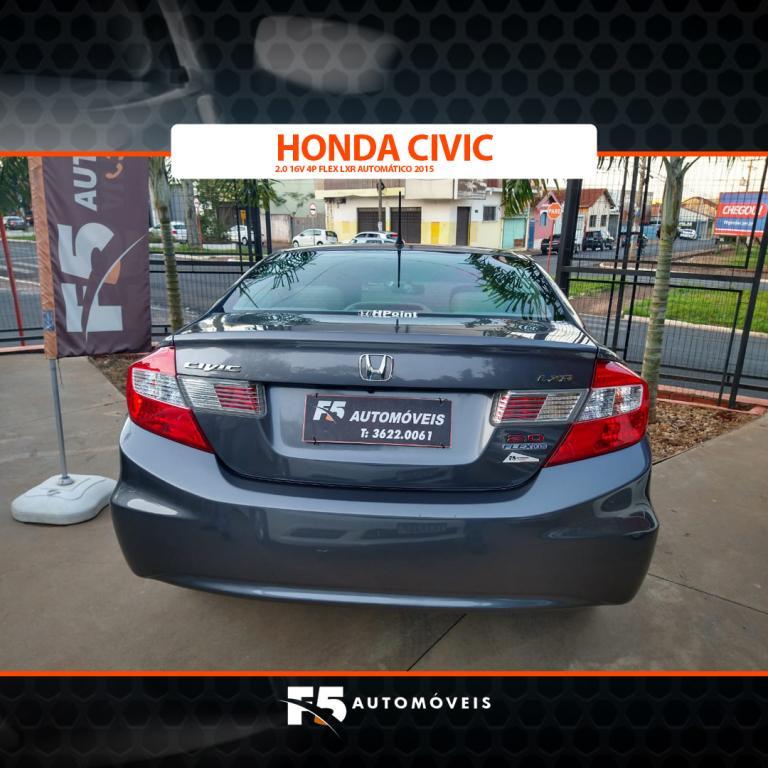 HONDA Civic 2.0 16V 4P FLEX LXR AUTOMÁTICO, Foto 6