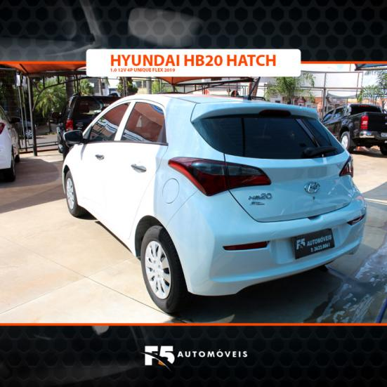 HYUNDAI HB 20 Hatch 1.0 12V 4P UNIQUE FLEX, Foto 5