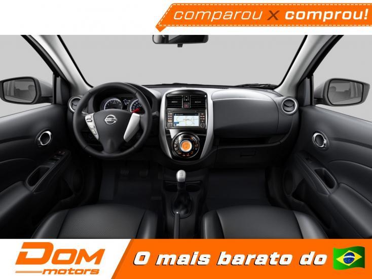 NISSAN Versa Sedan 1.6 16V 4P SV FLEX XTRONIC AUTOMÁTICO CVT, Foto 3
