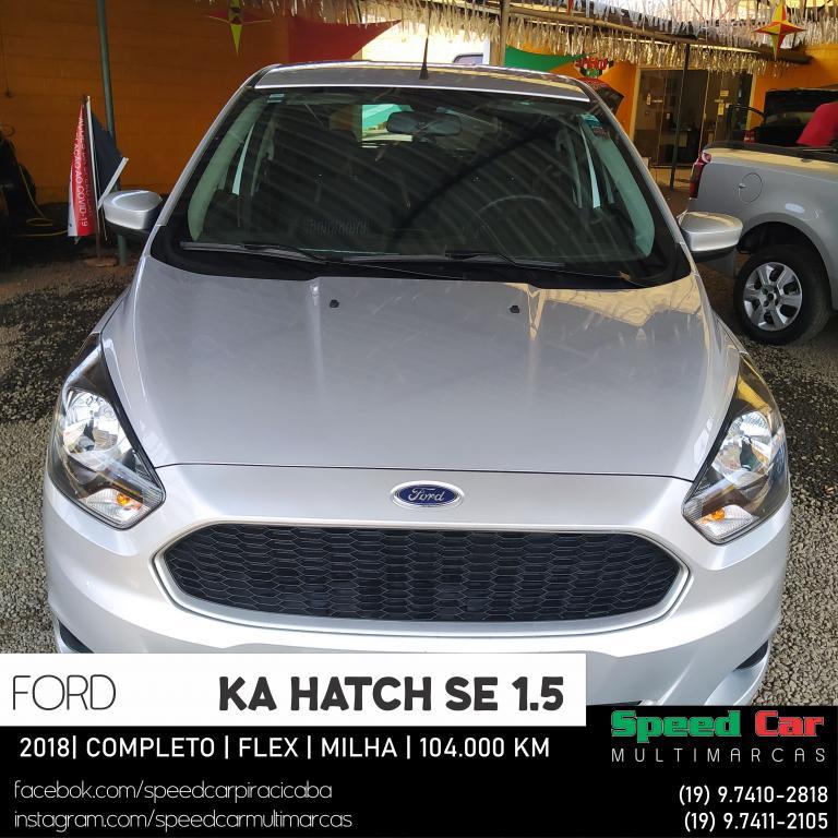 FORD Ka Hatch 1.5 12V 4P TI-VCT SE FLEX, Foto 20