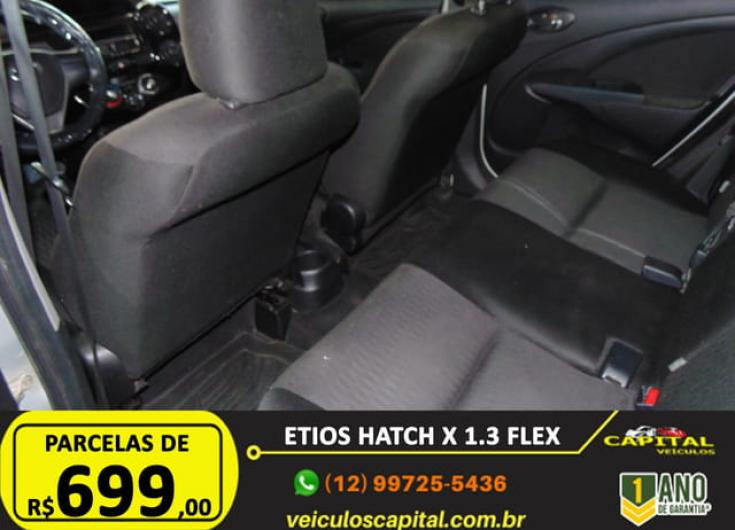 TOYOTA Etios Hatch 1.3 16V 4P FLEX, Foto 8